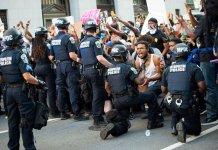 George Floyd- Etats-Unis-manifestations-