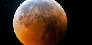 Eclipse de la Lune pénombrale