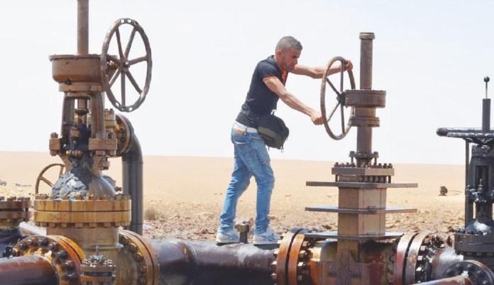 Accord El Kamour production pétrole et gaz