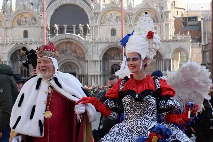 Carnevale Venezia 2018 - Volo dell'angelo