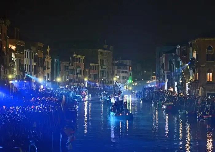 Carnevale di Venezia 2018 - spettacolo sull'acqua