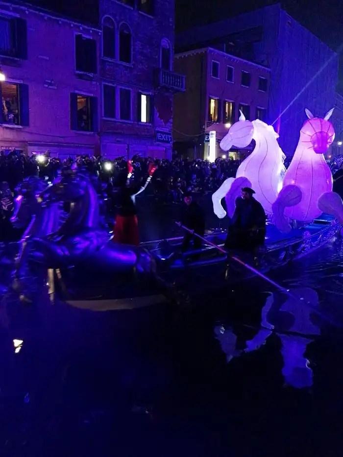 Carnevale di Venezia 2018 sfilata al Cannaregio