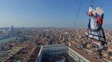 Carnevale di Venezia 2018 - Volo dell'Angelo