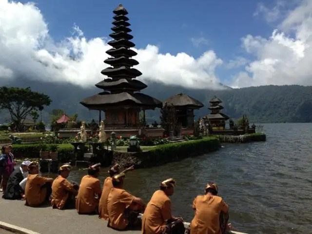tempio del Lago Bratan