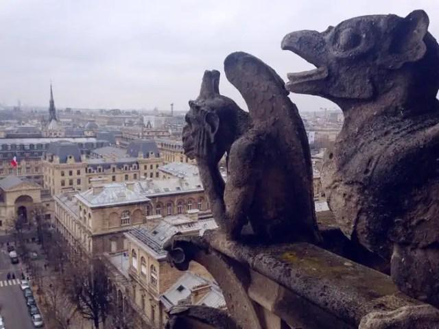Gargoyles Notre Dame de Paris