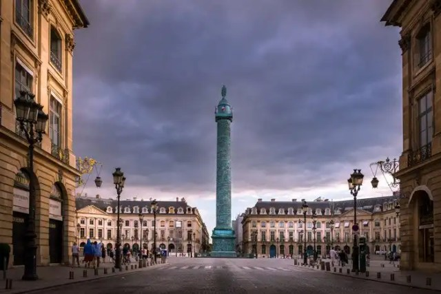 Place Vendome a Parigi