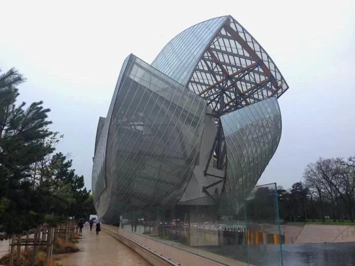 Fondation Louis Vuitton di Parigi