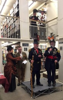 Mechanics Institute Library-Emperor Norton celebration