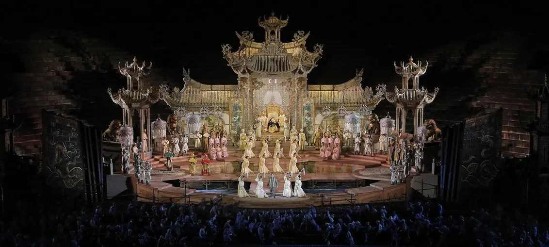 Turandot di Puccini all'Arena di Verona: trama e curiosità