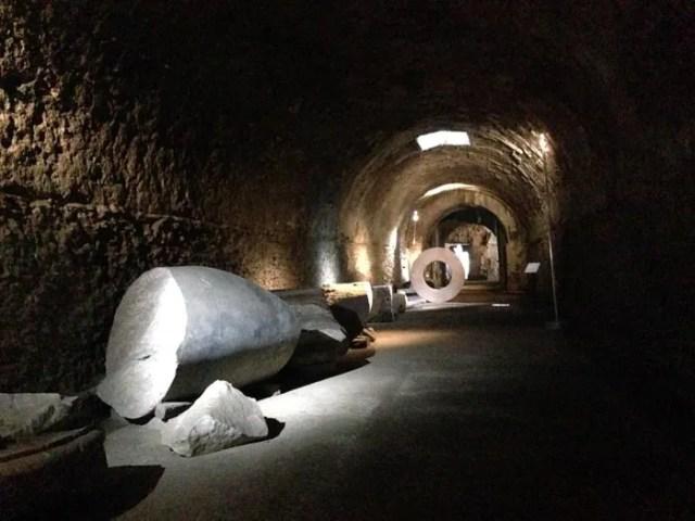 Tereme di Caracalla sotterranei