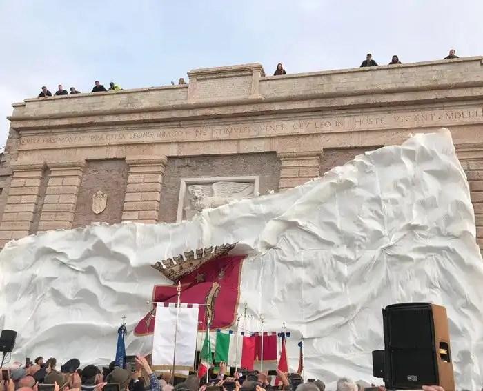 Inaugurazione di Porta Verona a Peschiera del Garda