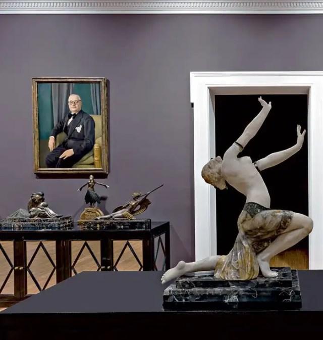 Labirinto della Masone di Fontanellato sculture