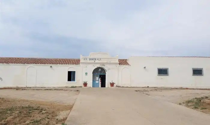 Asinara: l'ex carcere di massima sicurezza di Cala d'Oliva in Sardegna