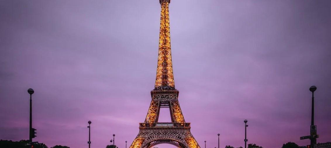 Tour Eiffel di Parigi
