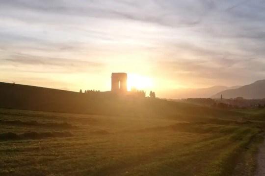 Asiago veduta al tramonto