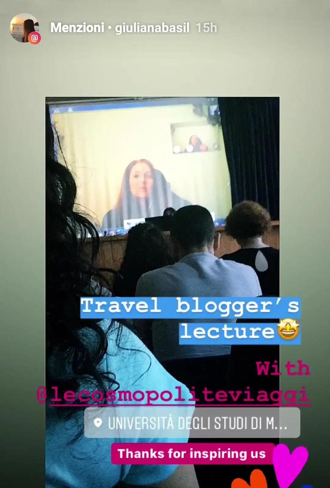 La Professione del Travel Blogger: corso