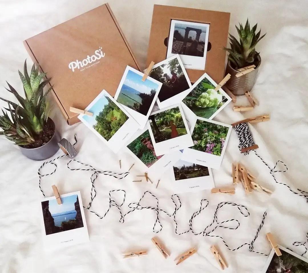 Photokit Photosì foto stampate formato polaroid