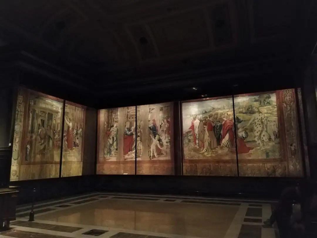 Arazzi di Raffaello ai Musei Vaticani di Roma