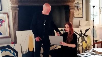 Arte e Coronavirus: l'arte di Vanessi dal Lago di Garda diventa virale