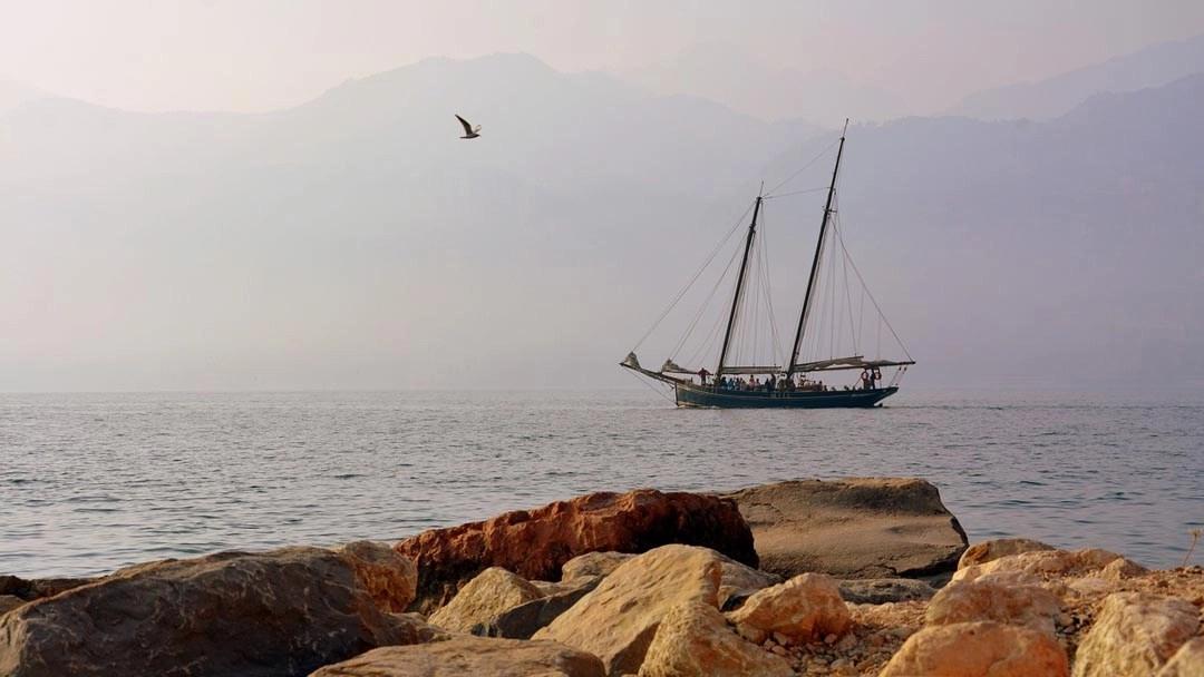 Tour in barca a vela a Malcesine