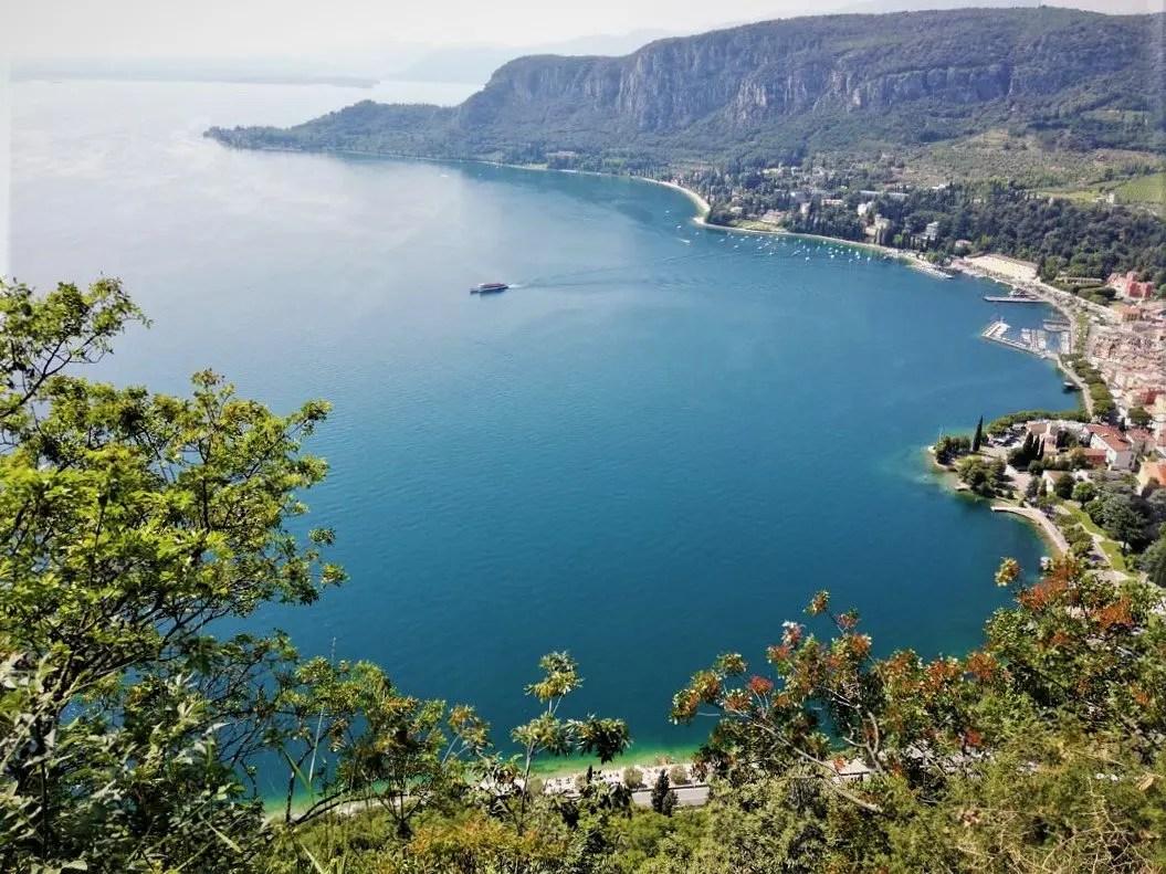 Rocca di Garda panorama del Lago di Garda