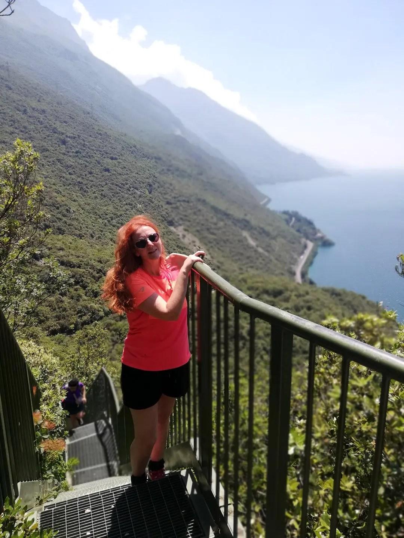 Scale percorso Busatte Tempesta Lago di Garda