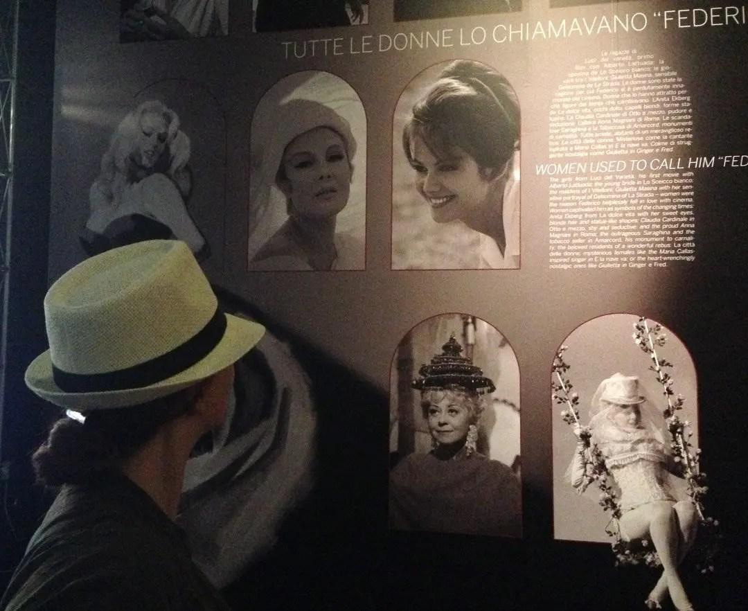 Mostra di Fellini a Cinecittà, Roma