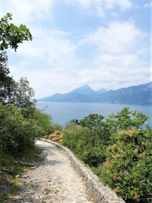 Sentiero panoramico Campo di Brenzone - Biaza sul Lago di Garda