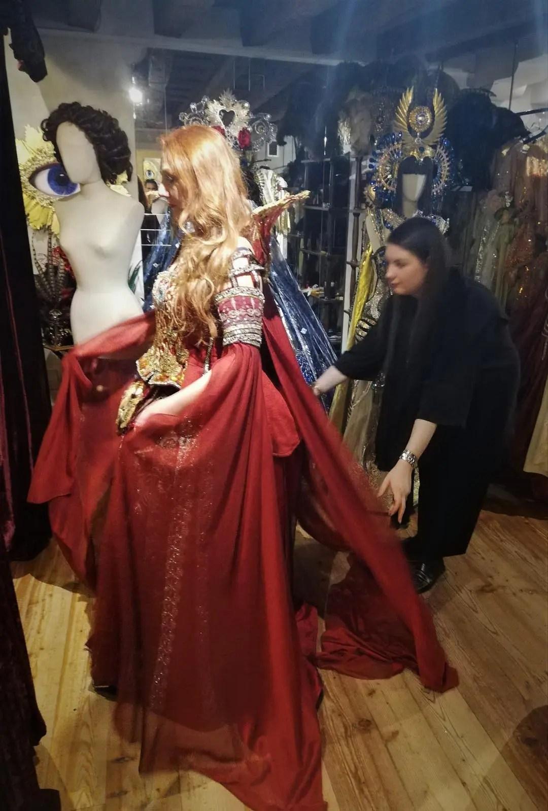 Atelier Antonia Sautter prova costume