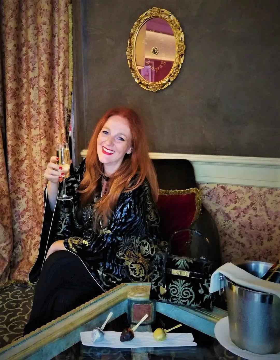 Hotel Papadopoli pulsante dello Champagne