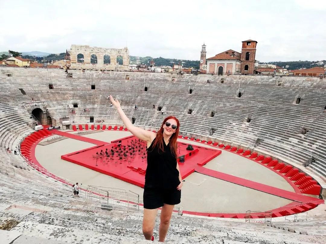 Arena di Verona visita guidata