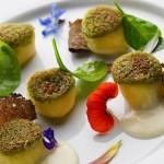 Ricetta gnocchi di patate di Godia al formaggio dello chef Emanuele Scarello 2 Stelle Michelin