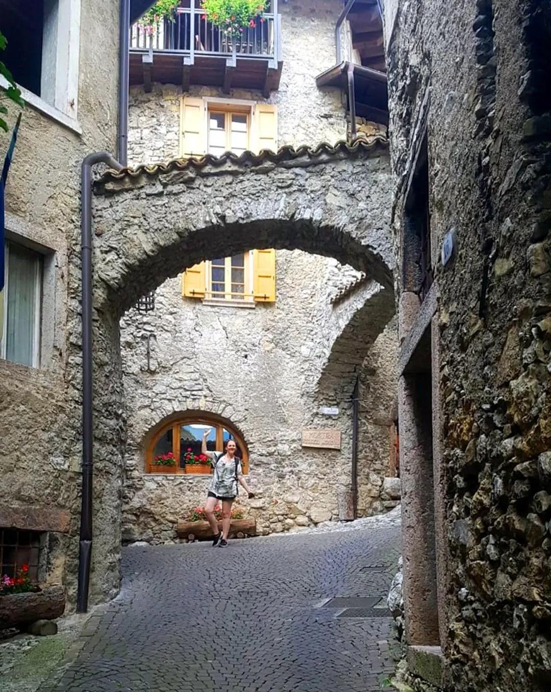 Passeggiata a Canale di Tenno in Trentino