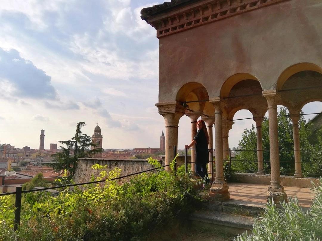 Visita a Giardino Giusti a Verona: terrazza panoramica