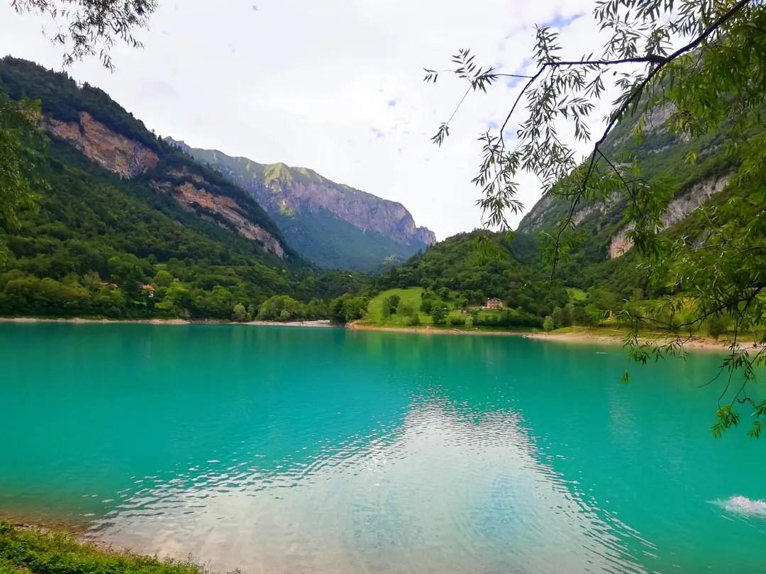 Lago di Tenno in Trentino Alto Adige