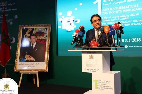 Le ministre délégué chargé des Marocains Résidant à l'Etranger et des Affaires de la Migration