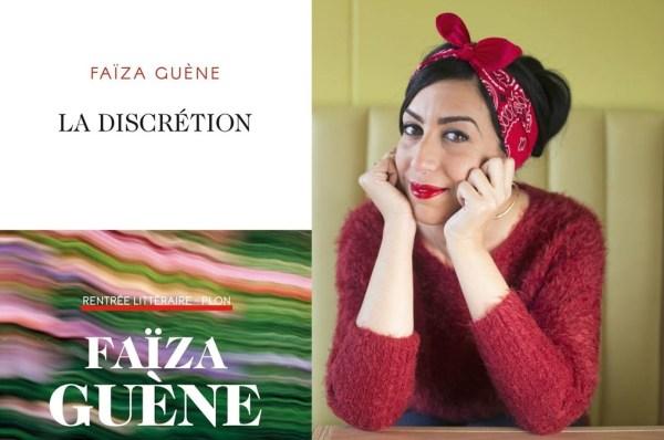 Sortie du livre « La discrétion » de Faïza Guène, chez Plon jeudi 27 août 2020.