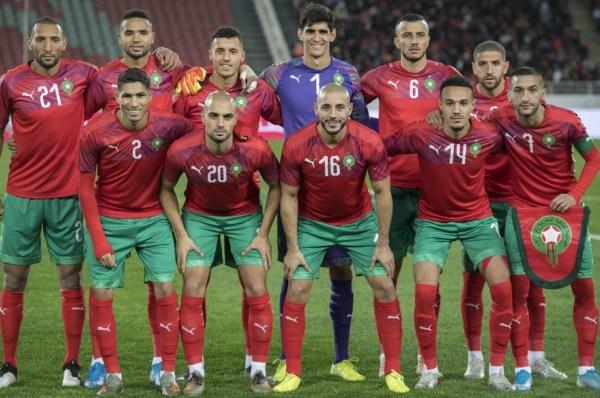 Équipe du Maroc de football, 43è au classement mondial de la FIFA
