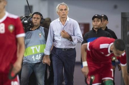 Le sélectionneur de l'équipe nationale marocaine de football Vahid Halilhodzic.
