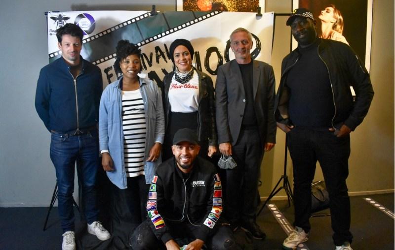 Les membres du jury du festival Hallnaywood, tenu ce samedi 3 octobre 2020, au théâtre cinéma Jacques Prévert d'Aulnay-sous-Bois.