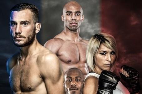 MMA, jeudi 8 octobre au Palais des sports Maurice-Thorez de Vitry-sur-Seine.