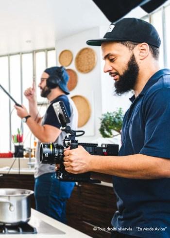 Mehdi Ouldsaad, réalisateur du film-documentaire « En Mode Avion ».