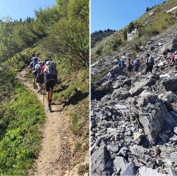 """""""Randonnée PJJ"""" autour du Mont Blanc - Jour 3"""