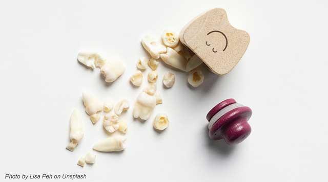 dents cassées