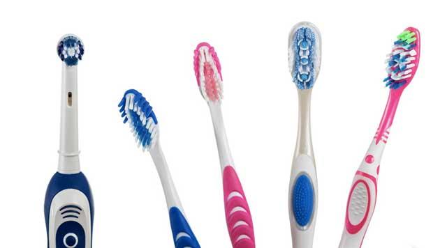 Quels sont les différents types de brosse à dents ?