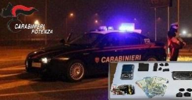 Carabinieri Droga Melfi