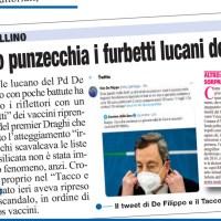 DE FILIPPO PUNZECCHIA I FURBETTI LUCANI DEI VACCINI