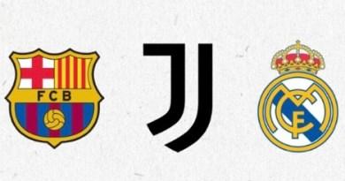 COMUNICATO DI BARCELLONA, JUVENTUS E REAL MADRID