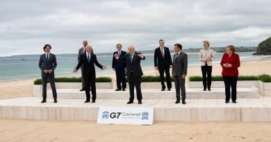Il Presidente Draghi al Vertice G7