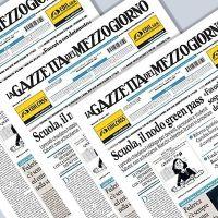 GAZZETTA DEL MEZZOGIORNO INTERROMPE LE PUBBLICAZIONI